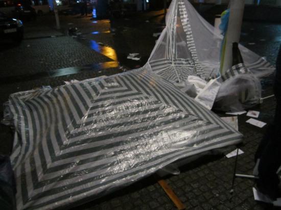 Участники погрома на Европейской площади до сих пор не идентифицированы