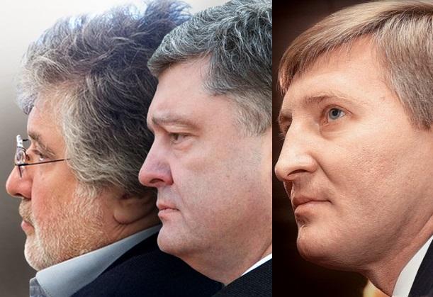 Насколько обеднели за год Порошенко, Коломойский и Ахметов