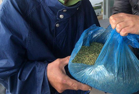 В Днепродзержинск не попала очередная партия марихуаны