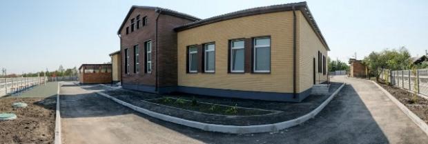 На Днепропетровщине возвели современный корпус в детском садике