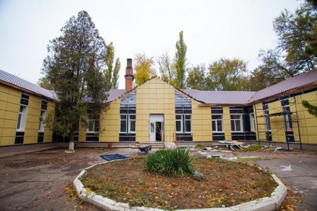В Марганце идет капитальный ремонт амбулатории №2