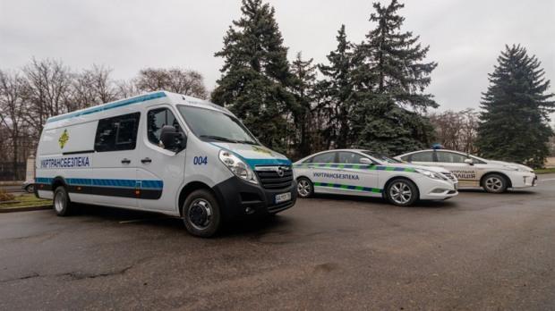 В Днепр поступили передвижные весовые комплексы для проверки машин перевозчиков