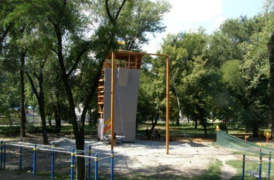 Парк Глобы готовится к нашествию любителей спорта (ФОТО)