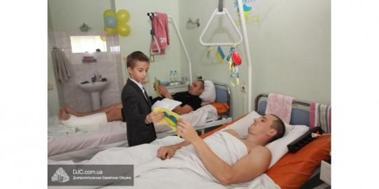 В больнице Мечникова дети пели раненым бойцам еврейские песни