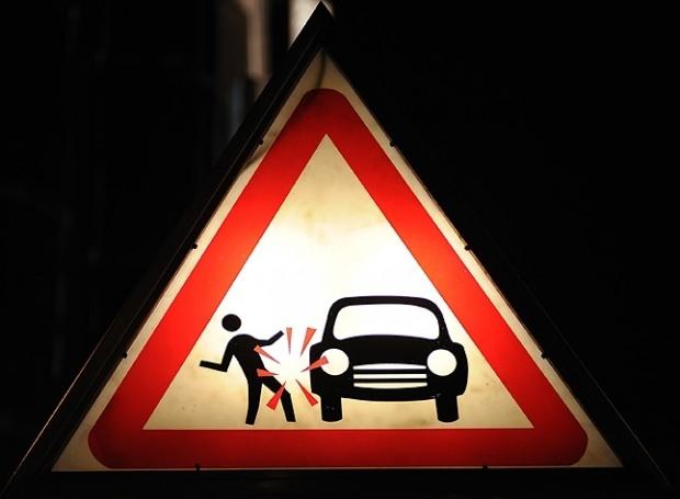 В аварии в центре Днепропетровска травмировали пешеходов