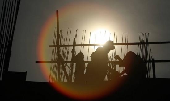 В Днепропетровске рухнул башенный кран