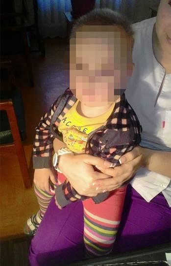 Найденного маленького мальчика отправили в больницу
