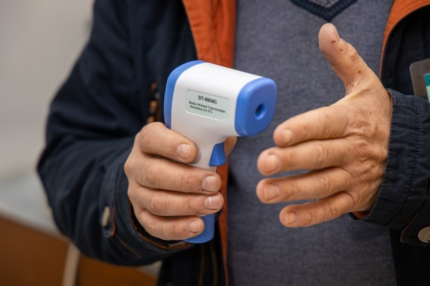 Куди відправляють людей з підвищеною температурою тіла з Міжнародного аеропорту на Дніпропетровщині