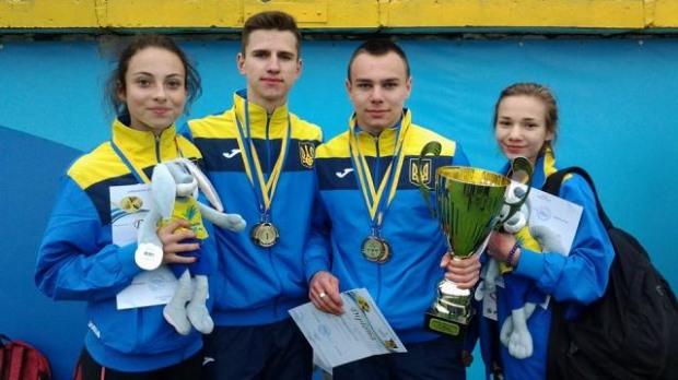Спортсмены Днепропетровщины завоевали семь медалей на международных соревнованиях