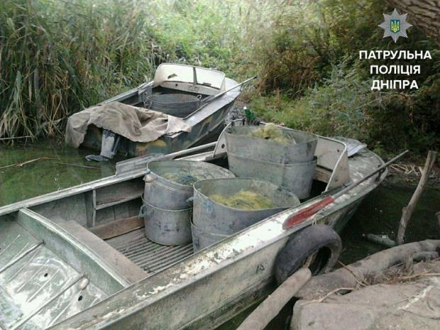 На Днепропетровщине задержали браконьеров, нанесших ущерб на 34.500 гривен