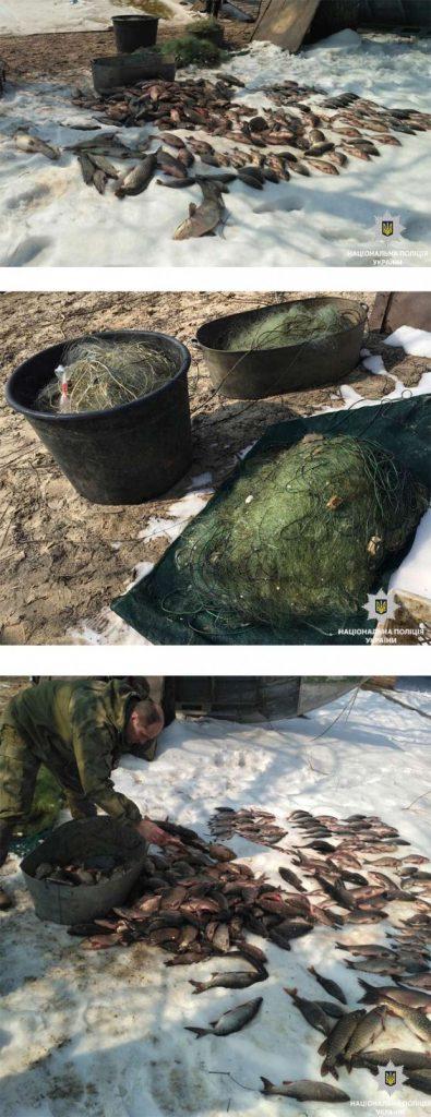 Браконьеры нанесли ущерб заповеднику в размере 27 тысяч гривен