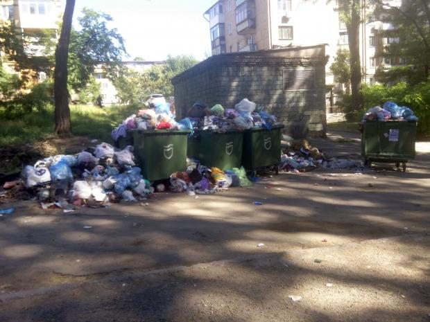 Заммэра Днепра Лысенко озаботился мусорными контейнерами и острит про концлагеря