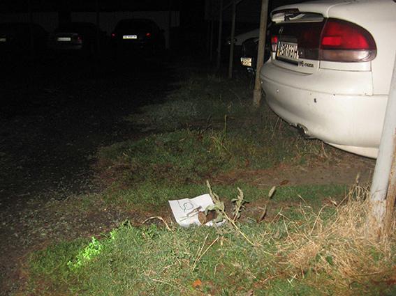 В Никополе пытались взорвать автомобиль