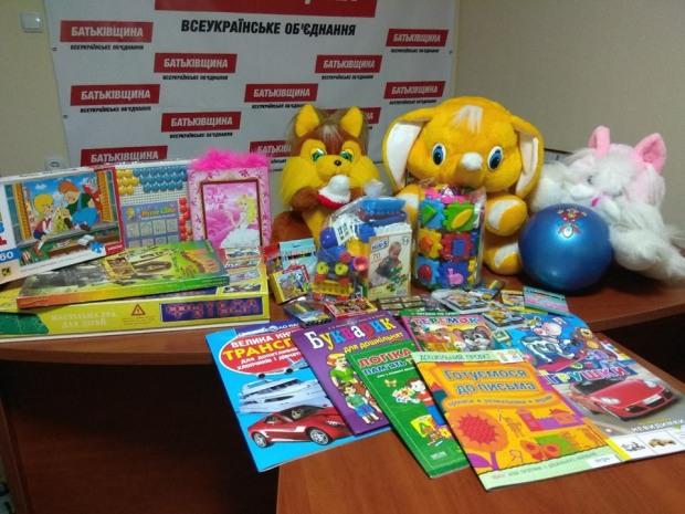Подарунки для малечі від Сергія Миршавки