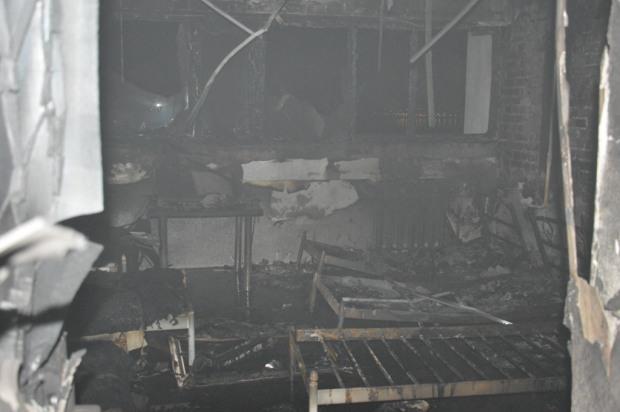В Днепре горела больница им. Мечникова