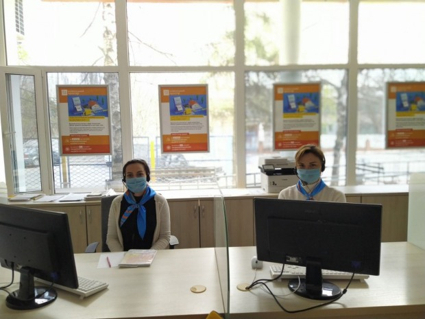Как работает Никопольский Центр обслуживания клиентов АО «Днепропетровскгаз» в период карантина