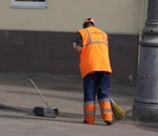 Как украсть на уборке Жовтневого района г. Днепропетровска