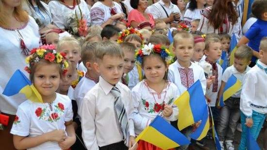 В Днепропетровской области в первый класс пойдет наибольшее количество детей