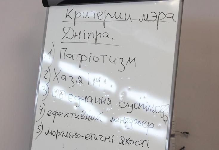 Представники громадських організацій Дніпра напрацювали «критерії лідера міста»