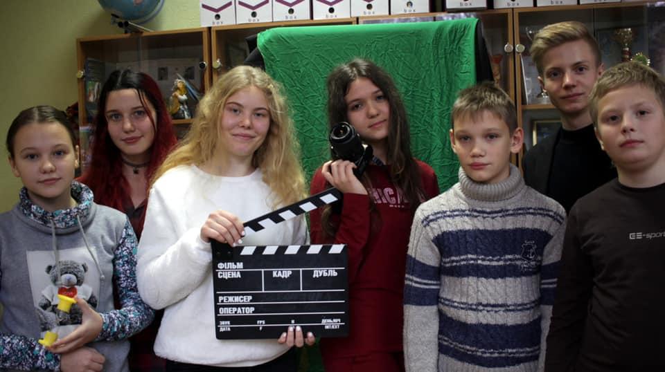 Дніпропетровський обласний дитячо-юнацький кіноцентр «Веснянка» оголошує набір у свої групи