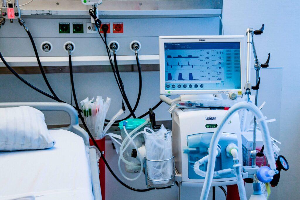 33% COVID-ліжок Дніпропетровщини забезпечені киснем