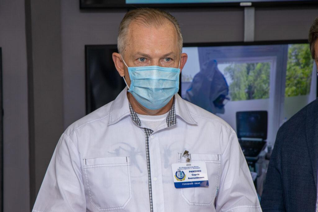 «Ніхто з нас не захищений від інфекції», – Риженко