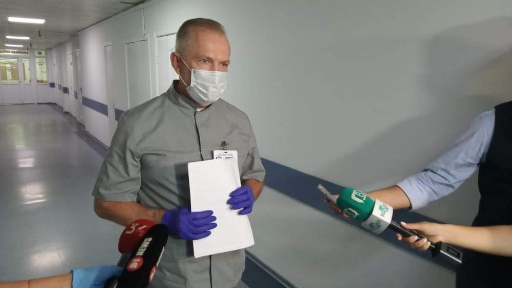Для лікування коронавірусних пневмоній у лікарні Мечникова розгортають розширену госпітальну базу