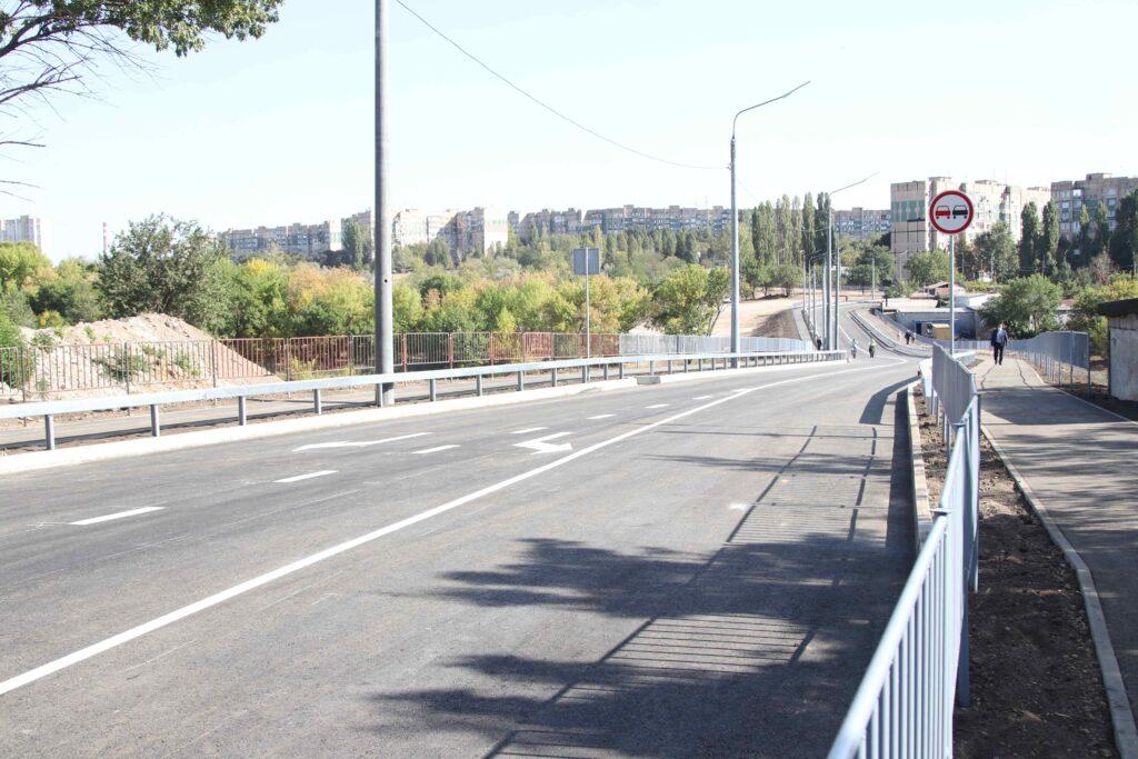 У Кривому Розі обласним коштом збудували дорогу між мікрорайонами Сонячний та Ювілейний (фото)