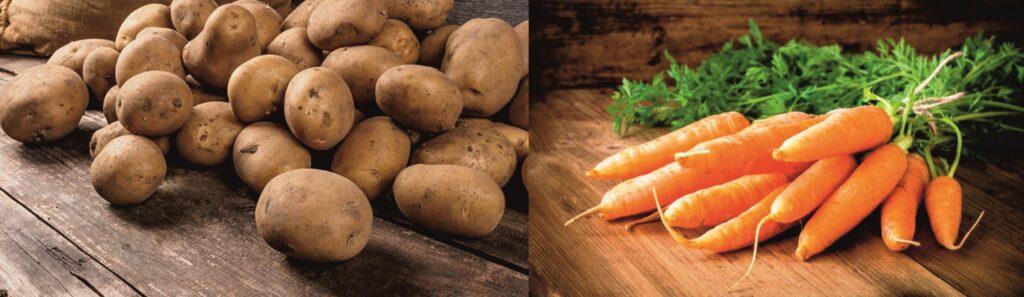 В Україні знижуються ціни на моркву та картоплю