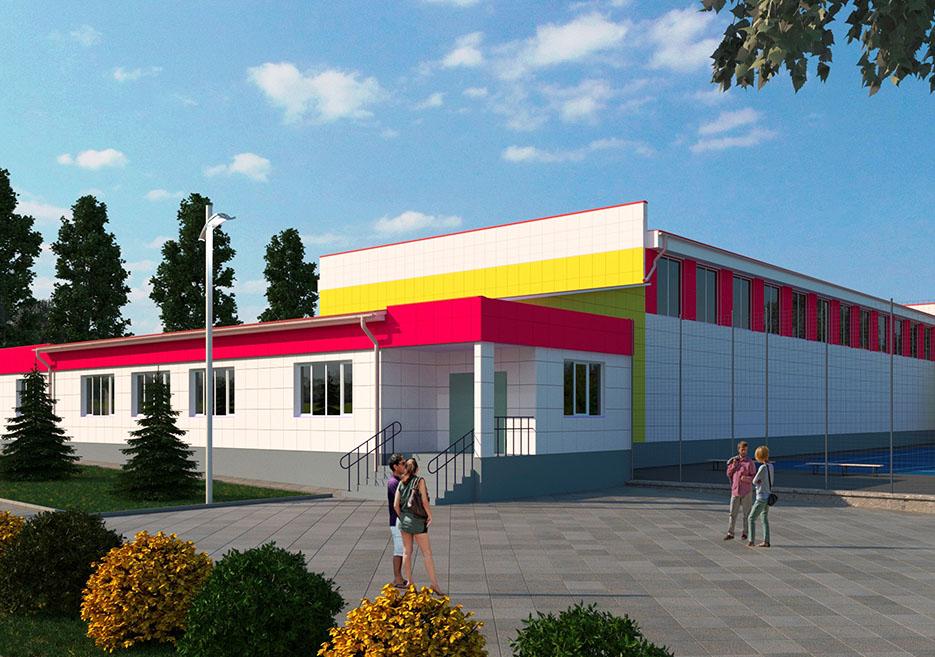 У Тернівці реконструюють спортшколу для дітей та юнацтва