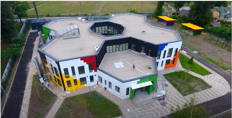 В Іларіоновому за програмою «Велике будівництво» звели дитсадок на 115 місць (фото, відео)