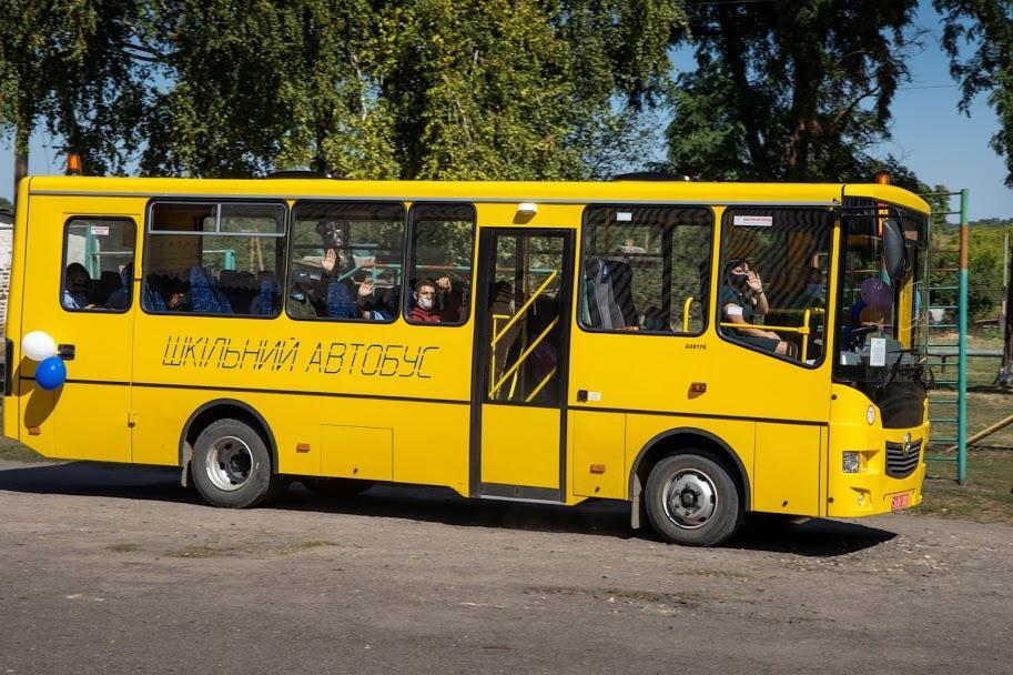 Ще 8 нових автобусів поповнили шкільний автопарк Дніпропетровської області