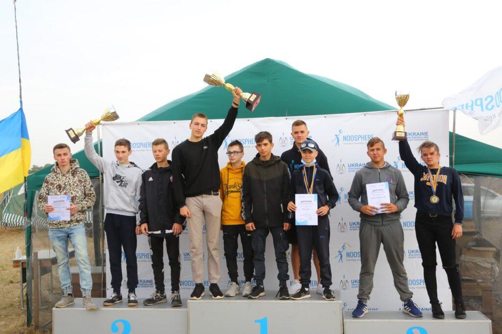 У Дніпрі на Чемпіонаті України запустили найбільшу ракету-копію Mercury Redstone