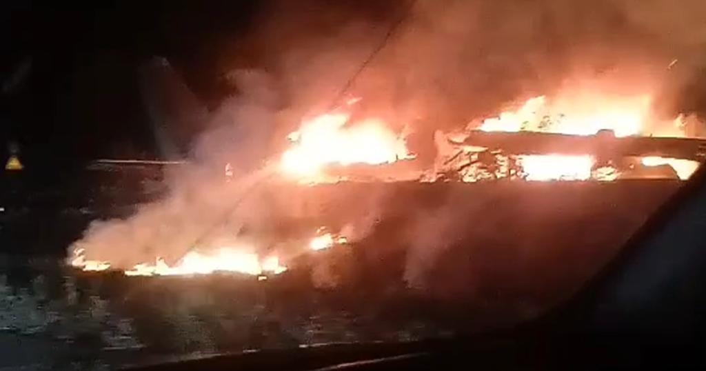 В Чугуєвському районі, під Харковом, розбився літак Збройних Сил України: є загиблі (відео)