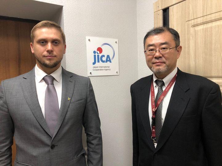 Голова ДніпроОДА налагоджує взаємовигідну співпрацю з Японією