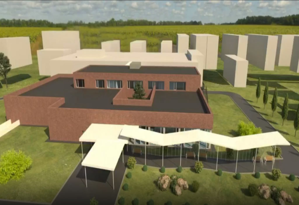 У Кривому Розі презентували 3D-модель майбутнього онкоцентру