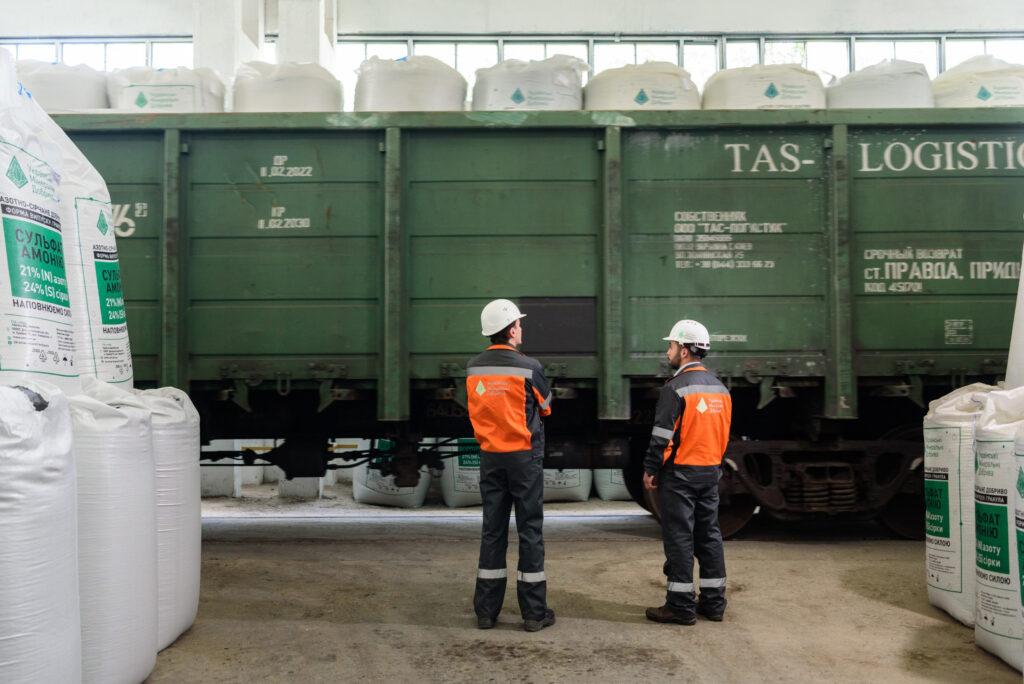 В Дніпропетровській області запустили завод з виробництва мінеральних добрив