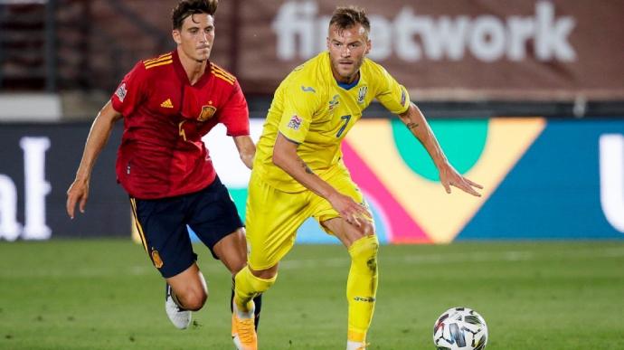 Збірна України сенсаційно перемогла Іспанію