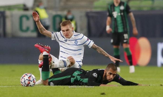 «Динамо» втратило перемогу проти «Ференцвароша» Реброва в Лізі чемпіонів