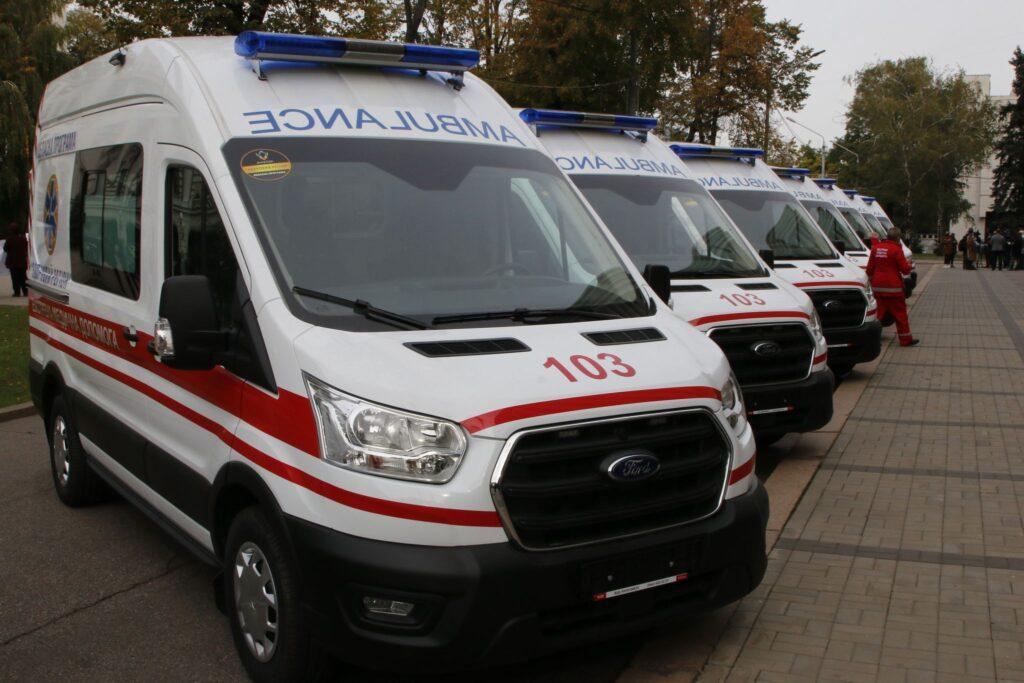 Обласний центр екстреної медичної допомоги отримає 74 нові автомобілі «швидкої»