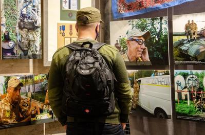 У Музеї АТО відкрили виставку «Нью-Йорк–Іловайськ: вибір»