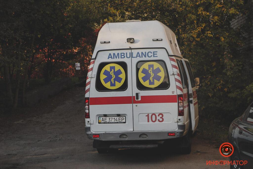 У Дніпрі на Данила Нечая чоловік впав зі сходів і помер (фото)