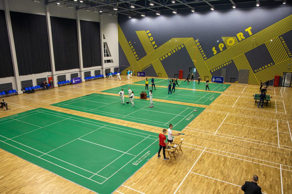 Шестиповерховий спорткомплекс: у Дніпрі відкрили найкращу в регіоні криту арену для олімпійських видів спорту