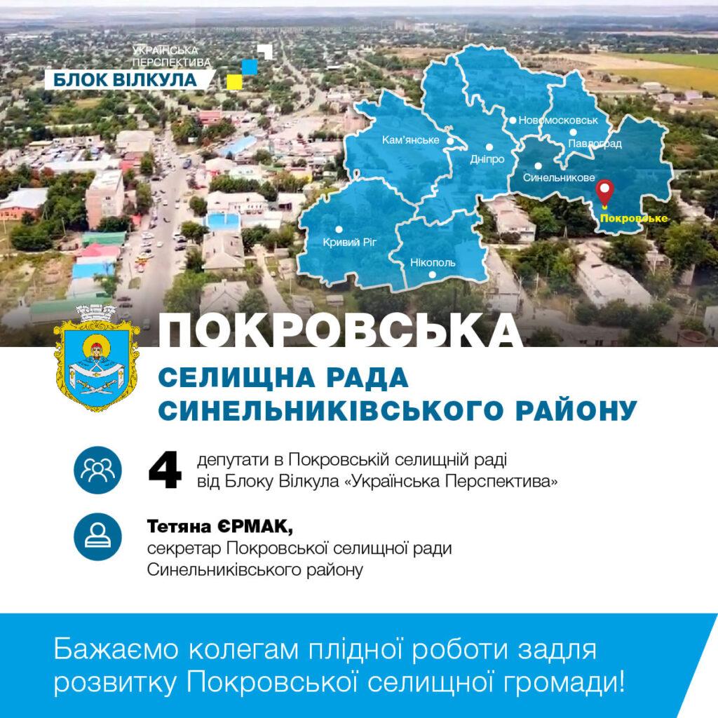 «Українська перспектива» привітала колегу з нагоди обрання секретарем селищної ради