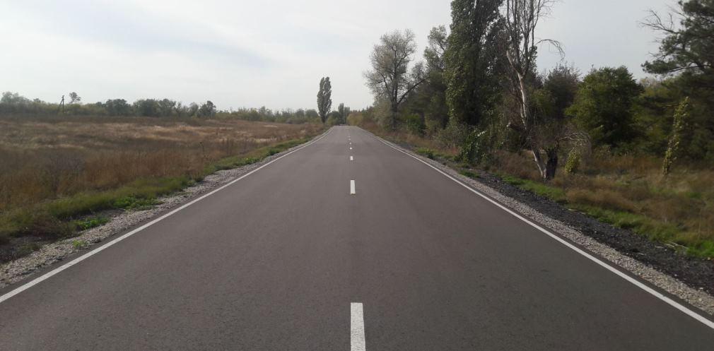 На Дніпропетровщині відремонтували 16 км дороги Верхньодніпровськ-Боровківка-Доброгірське