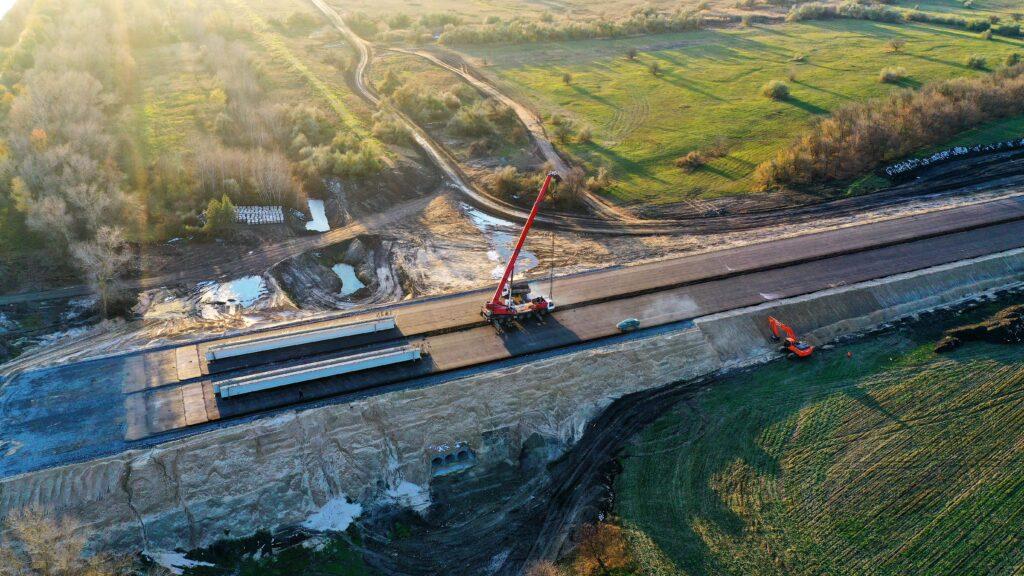 Дворівневу транспортну розв'язку будують у Царичанському районі Дніпропетровської області