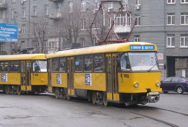 Куди сьогодні не зможе довезти пасажирів трамвай центрального маршруту