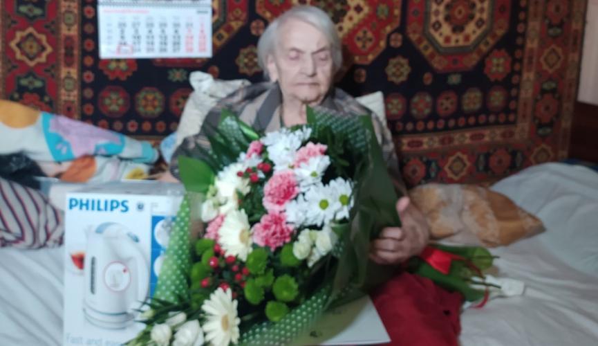 Кам'янчанка відзначає 100-річний ювілей