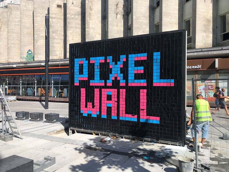 Піксельна стіна Дніпра перемогла в європейському конкурсі