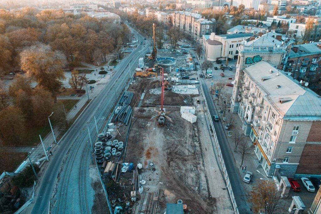 У Дніпрі будуть перекривати центр міста через будівництво метро